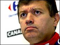 New Tottenham coach Jacques Santini