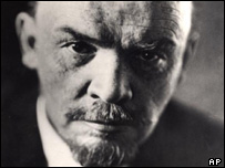Leader of the revolution: Lenin