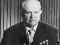 Khrushchev: Denounced Stalin's rule