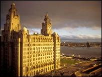 The Liver Building. Picture courtesy of freefoto.com