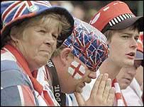 Fans on Henman Hill