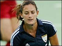 Argentina player Luciana Aymar