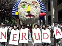 Neruda fans in Chile commemorate his birth