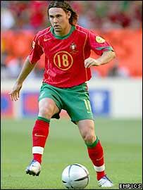 Portugal midfielder Maniche