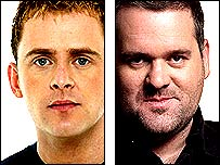 Scott Mills and Chris Moyles go head-to-head