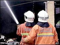 Malay firemen