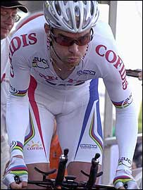David Millar rides during the prologue of this year's Dauphine-Libere race