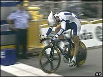 Swiss rider Fabian Cancellara