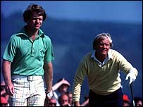 Tom Watson and Jack Nicklaus