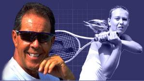 Nick Bollettieri and Maria Sharapova