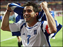 Greece's Euro 2004-winning captain Theo Zagorakis