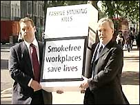 Dr Peter Maguire (left) is leading the campaign by doctors
