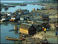 R�o Irrawaddy, Birmania, Foto: BBC