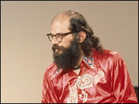 Allen Ginsberg, 1967. Foto: BBC