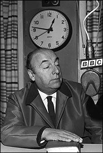 Pablo Neruda en la BBC en 1965