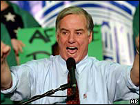 Howard Dean campaigning