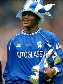 Desailly won the FA Cup in 2000