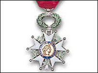 The Legion d'Honneur