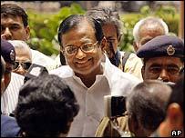 Finance Minister Palaniappan Chidambaram