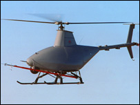 Fire Scout unmanned air vehicle