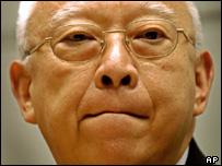 Hong Kong's leader Tung Chee-hwa