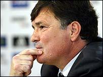 Real Madrid coach Jose Antonio Camacho