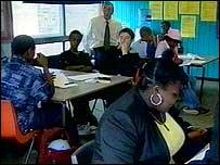 Class at Lilian Baylis School