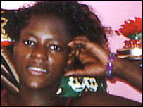 Fiansa, an erotic dancer in Uganda
