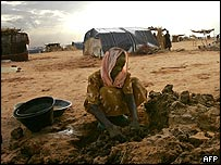 Refugee from Darfur