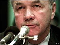 Kenneth Lay, ex presidente de Enron.