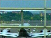 Passenger plane at Tempelhof