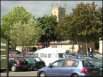 Cirencester Brewery car park