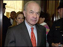 Kenneth Lay, ex-chairman of Enron