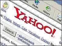 Yahoo internet portal