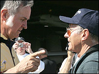 Burt Rutan (l) and Mike Melvill (r) (Scaled Composites image)