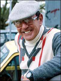 Mike Reid as Frank Butcher in EastEnders