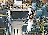 Inside the Sellafield plant