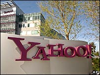 Yahoo headquarters in California