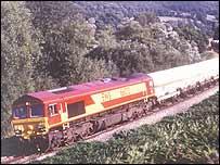 Freight service - Photo: EWS