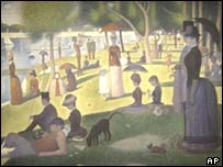 Seurat's A Sunday on La Grande Jatte, AP