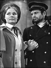 Judi Dench and Ian Holm in the BBC production of The Cherry Orchard
