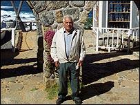Rafael Plaza Hern�ndez, Rafita, carpintero de Neruda. Foto: Manuel Toledo