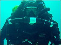 Richard Stevenson Picture courtesy of Deep Blue Diving