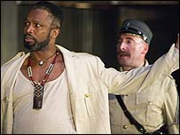 Sello Maake ka Ncube as Othello and Anthony Sher as Iago