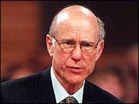 Pat Roberts, senador republicano de Estados Unidos.