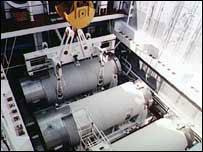 Nuclear fuel flasks