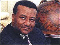 Togolese opposition leader Gilchrist Olympio