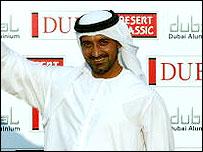 Sheikh Ahmed bin Saeed al-Maktoum is a key backer