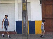Lugar donde estaba la casa de la infancia de Neruda en Temuco. Foto: Manuel Toledo