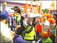Sikh community celebrates